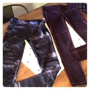 2 PAIRS Gapfit skinny leggings