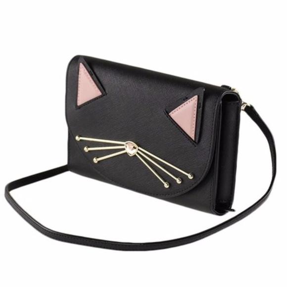e5c777c305df kate spade Bags | Sale Winni Cat Crossbody Bag | Poshmark