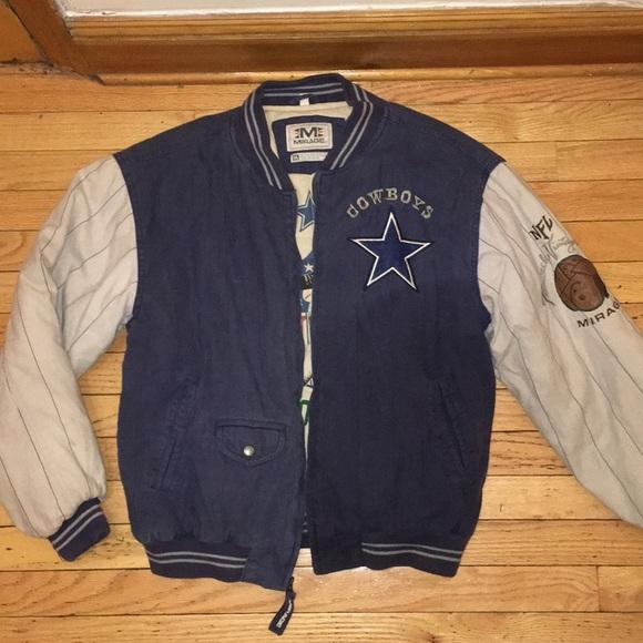 promo code 6c478 3ffb4 Vintage Dallas Cowboys Football Varsity Jacket
