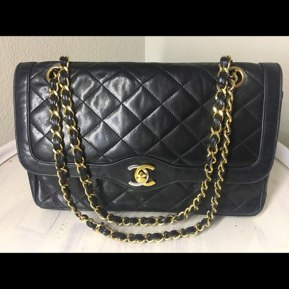 25f1f8007456 CHANEL Handbags - Authentic Chanel Vintage Lambskin Double Flap Bag