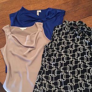 Tops - Mixed lot blouses.