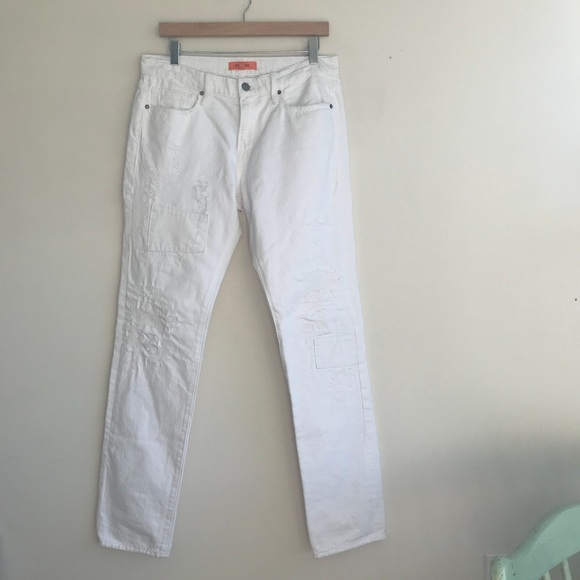 Jeans blanc homme