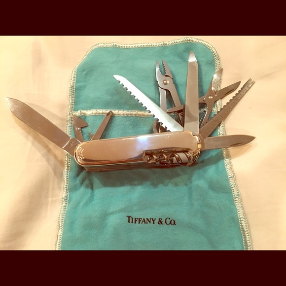 900dcacaa Tiffany & Co. Accessories | Tiffany Co Victorinox Sterling Silver ...