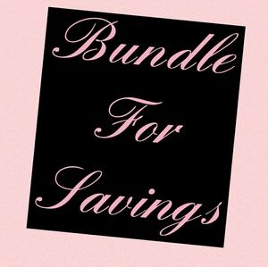 Other - Create a bundle for a discount.