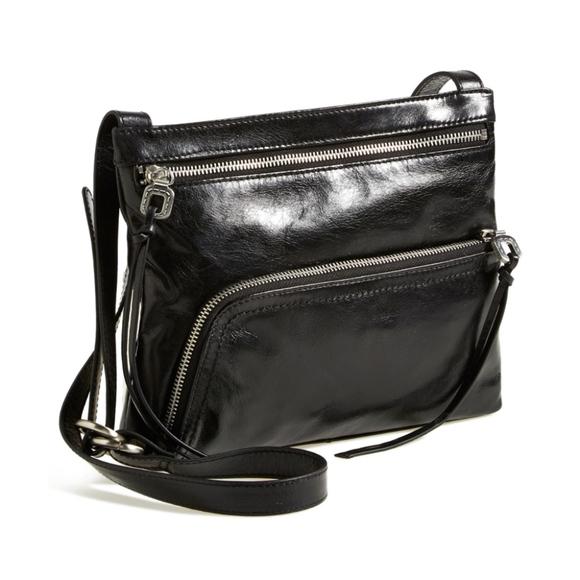22ade84608 HOBO Handbags - Hobo CASSIE leather cross body bag in BLACK