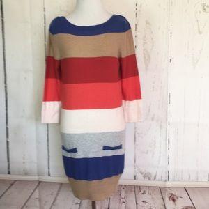 Dorothy Perkins striped sweater dress