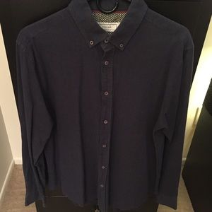 Five Four oxford button-down longsleeve navy blue