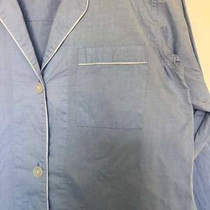 Everlane Intimates & Sleepwear - Everlane Oxford pajama tunic, XS