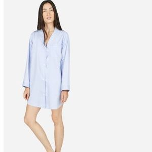 Everlane Oxford pajama tunic, XS