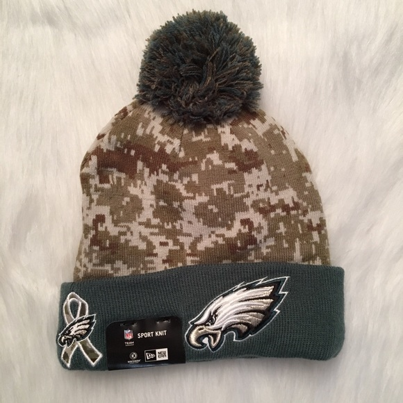New Era Philadelphia Eagles Salute to Service Hat d72f38997a9