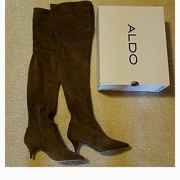11c96512047 NEW Aldo Beilla Over Knee Boots 8.5 Weitzman