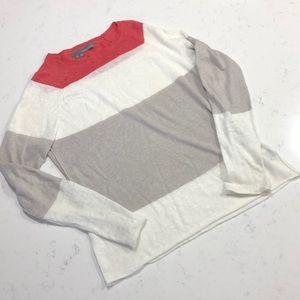 360sweater striped linen sweater