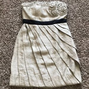 MaxandCleo strapless winter or holiday party dress