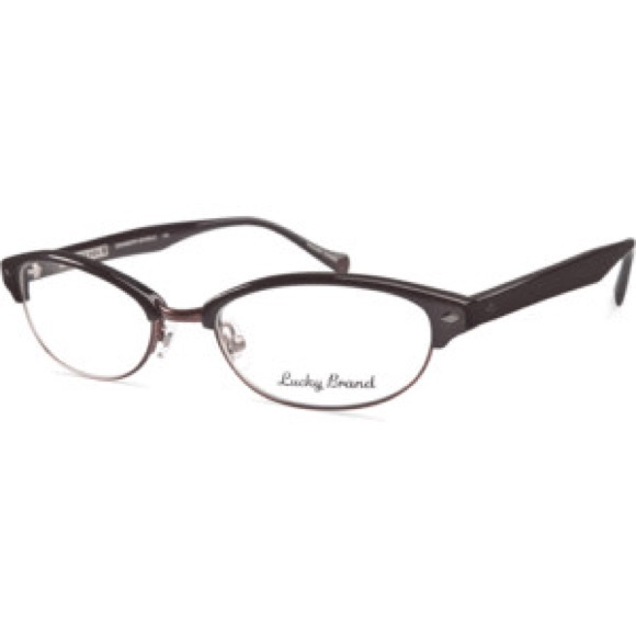 Lucky Brand Glasses Frames Pearl Cranberry Sparkle | Poshmark