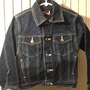 Other - Boys button down denim jacket.