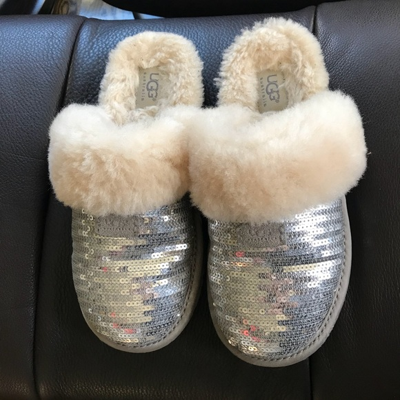 621958f2b3c UGG Youth Dazzle Sequin Slipper