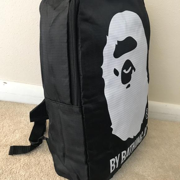 b02413762568 Bape Bags | A Bathing Ape Light Weight Backpack | Poshmark