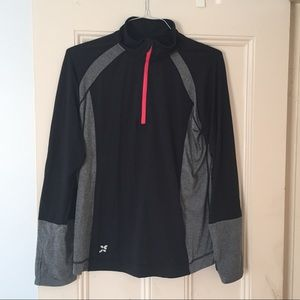 Running 3/4 zip jacket