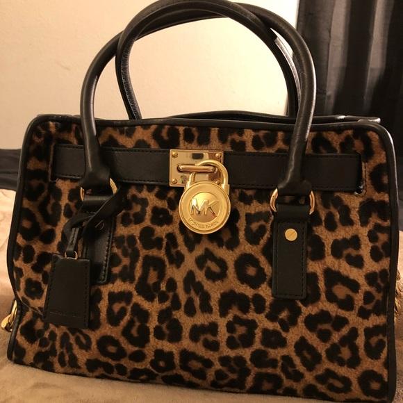 ad5e8f33955b Michael Kors Bags | Cheetah Print Tote Bag | Poshmark