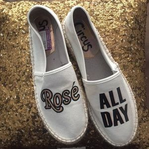 Rose All Day Flats, New Size 8.5