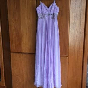 Dresses & Skirts - Lilac Grecian Empire Gown