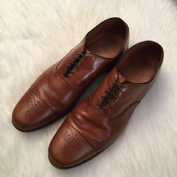 Dryden Oxfords Brown Leather