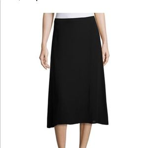 Eileen Fisher A line Silk Skirt
