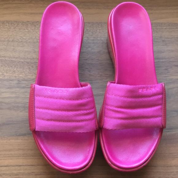b4618c8f2d9 Prada Platform Slides Sandals Shoes. M 5a19c27beaf030479201fa61