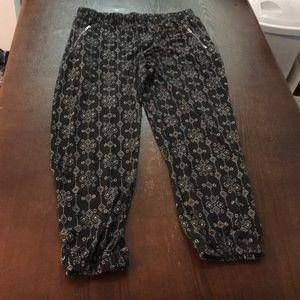 Funky cotton pants