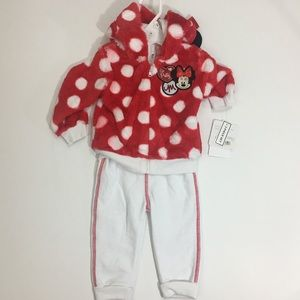 NEW Minnie Mouse Outfit Size: 12M