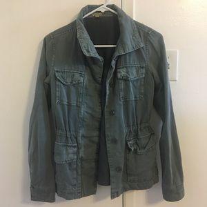 Teal Utility Jacket