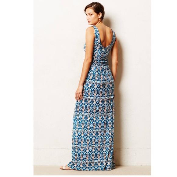 70 off anthropologie dresses skirts vanessa virginia for Anthropologie mural maxi dress