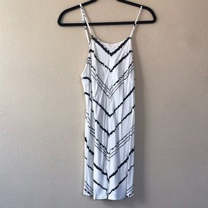 RVCA Black & White Romper