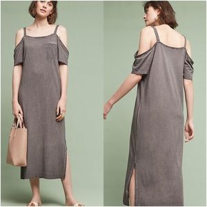Anthropologie Juliette Open Shoulder Dress