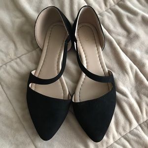 POINTED FLATS SIZE 8