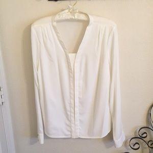 Calvin Klein ivory dress shirt