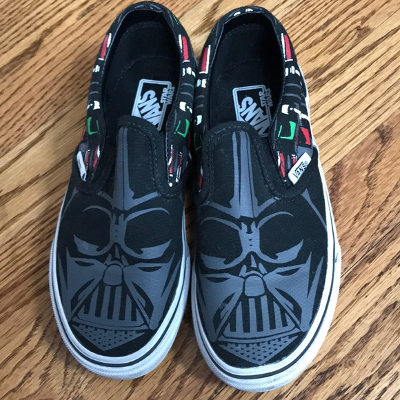 1fb127a26c Like new Star Wars Darth Vader Vans (Kids). M 5a19ca4a4127d0d1570210f6