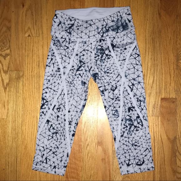 6440c26139 lululemon athletica Pants | Lululemon Limited Edition Tiedye Cropped ...