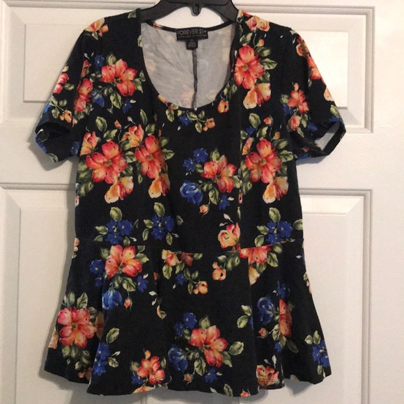 18191ee0caf Forever 21 Tops - Peplum top