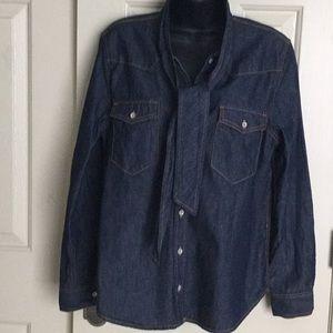 Joe Fresh Jean Shirt. NWOT