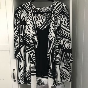 JM collection kimono type cover up