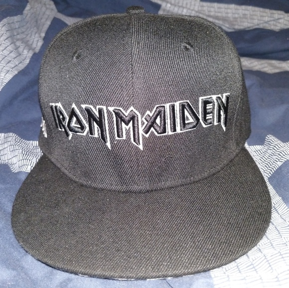 Iron Maiden Other - Iron Maiden Book of Souls tour snapback 20983568670