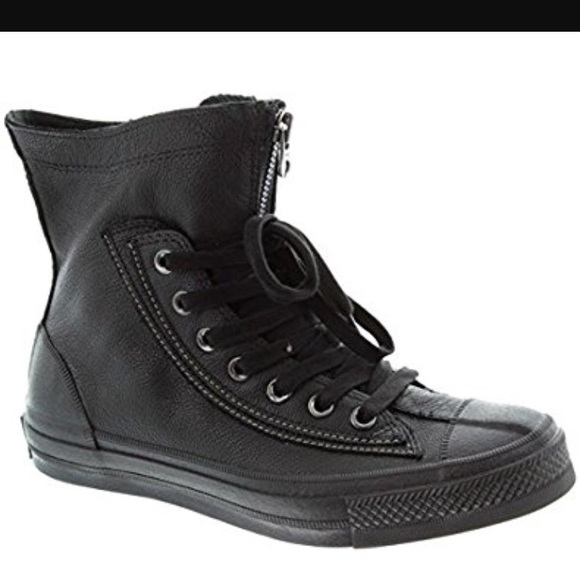 99049e248959 Converse Shoes - Black leather Converse All Star combat boots