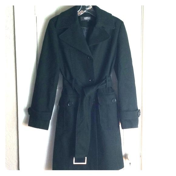 Get Wool Emerald Green Coat Gif