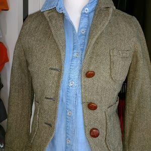 Abercrombie wool blend jacket