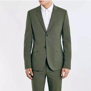 Topman NEW Khaki Ultra Skinny Fit Suit Jacket NWT