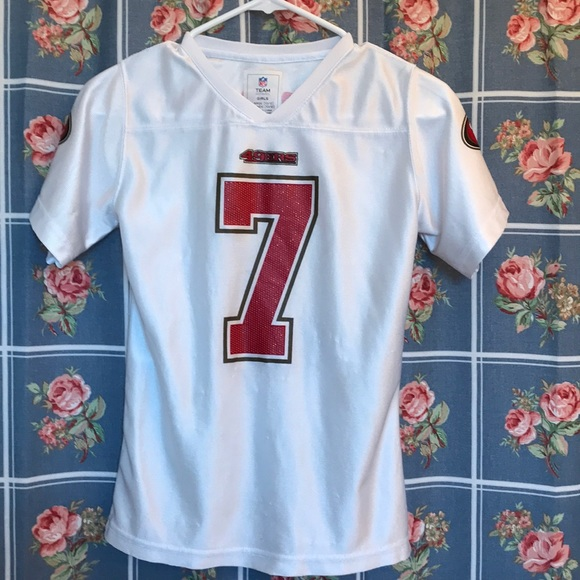 3133528b NFL forty niners girls Large (10-12) Kaepernick