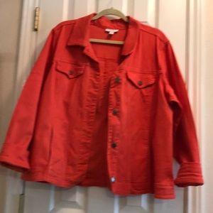 Orange Charter Club Jean like jacket