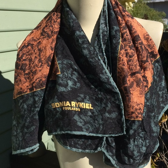 """famous brand official images aliexpress Lovely Sonia Rykiel Foulards Scarf 35""""x 35"""" square"""