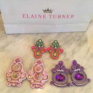 Jewelry - One of a kind, amazing handmade earrings!